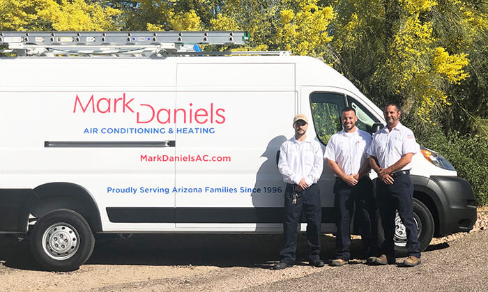 Mark Daniels Here to Help with Heating Services in Sun Lakes AZ