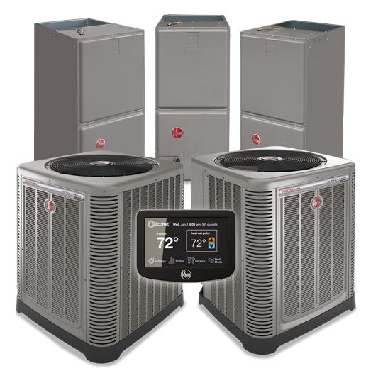 Rheem Unit Mark Daniels Air Conditioning