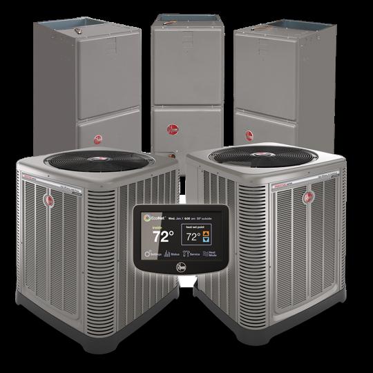 Rheem Unit Mark Daniels Air Conditioning